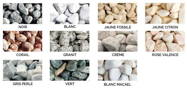 Galets de marbre - PDS Négoce